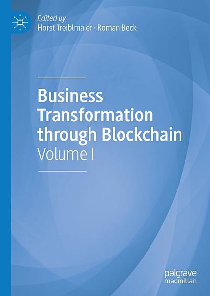 Business Transformation through Blockchain PDF