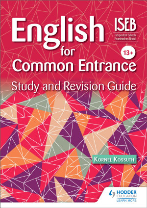 English for Common Entrance Study and Revision Guide PDF