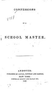 Confessions of a School Master