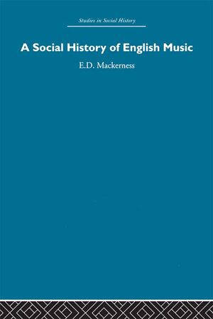 A Social History of English Music