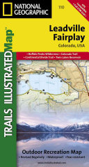 National Geographic Trails Illustrated Map Leadville / Fairplay