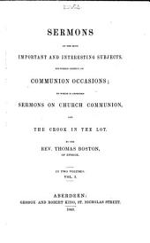The Whole Works of the Late Reverend and Learned Mr. Thomas Boston, Minister of the Gospel at Etterick: Volume 3