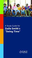 A Study Guide for Zadie Smith s  Swing Time  PDF