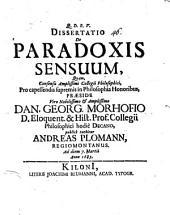Diss. de paradoxis sensuum