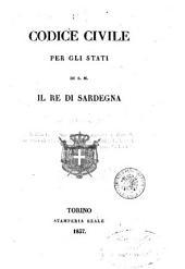 Codice civile per gli stati di S. M. il re di Sardegna