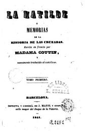 La Matilde ó Memorias de la historia de las Cruzadas, 1