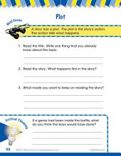 Read & Succeed Comprehension Level 1: Plot Passages and Questions