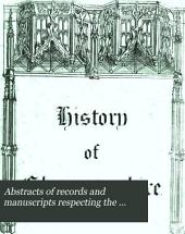 Abstracts of records and manuscripts respecting the county of Gloucester; formed into a history