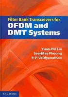 Filter Bank Transceivers for OFDM and DMT Systems PDF