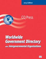 Worldwide Government Directory with Intergovernmental Organizations 2013