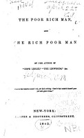 The Poor Rich Man  and the Rich Poor Man PDF