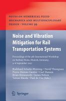 Noise and Vibration Mitigation for Rail Transportation Systems PDF