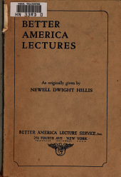 Better America Lectures