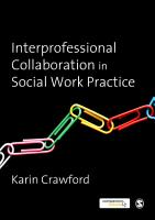 Interprofessional Collaboration in Social Work Practice PDF