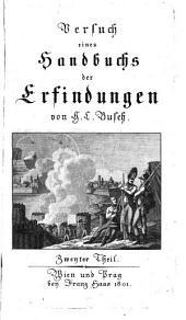 Versuch eines Handbuchs der Erfindungen: G - J, Band 2