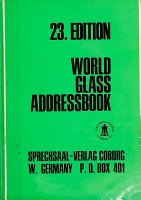 World glass addressbook PDF