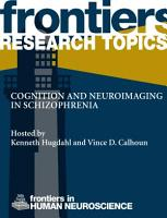 Cognition and neuroimaging in schizophrenia PDF