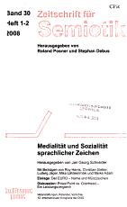 Zeitschrift f  r Semiotik PDF