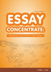 Essay Concentrate: a step-by-step guide on how to write an essay