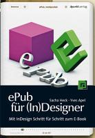 ePub f  r  In Designer PDF