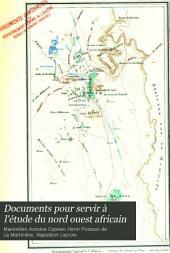 Documents pour servir à l'étude du nord ouest africain: Volume1