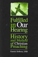 Fulfilled in Our Hearing PDF