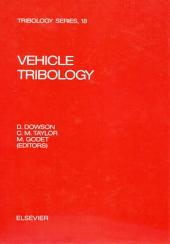 Vehicle Tribology