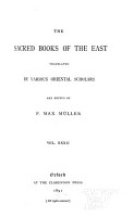 The Sacred Books of the East  Vedic hymns  pt  1 PDF