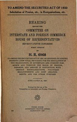 To Amend the Securities Act of 1933 PDF