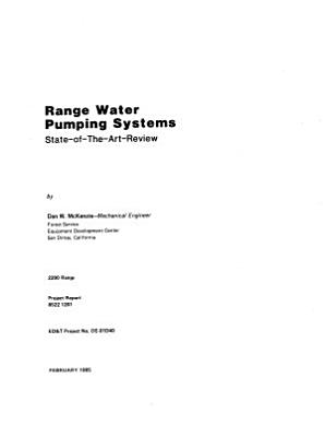 Range Water Pumping Systems