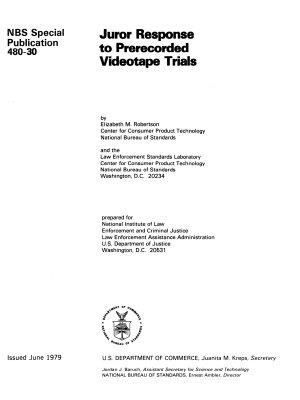 Juror Response to Prerecorded Videotape Trials