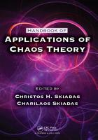 Handbook Of Applications Of Chaos Theory