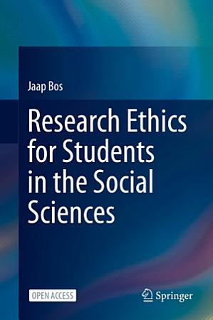 Research Ethics for Students in the Social Sciences PDF