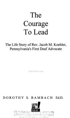 The Courage to Lead PDF