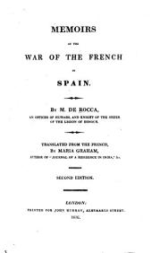 Memoirs of the War of the French in Spain