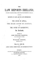 The Law Reports  Ireland  PDF