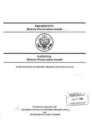 President s Historic Preservation Awards