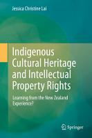 Indigenous Cultural Heritage and Intellectual Property Rights PDF
