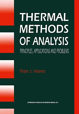Thermal Methods of Analysis PDF