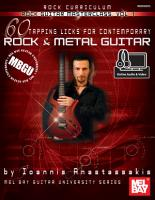 MBGU Rock Guitar Masterclass Vol  1 PDF