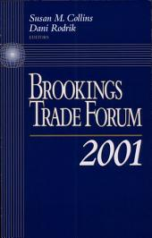 Brookings Trade Forum: 2001