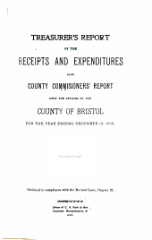 Annual Report of County Treasurer and County Commissioners for the Fiscal Period ...