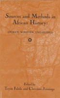 Sources and Methods in African History PDF