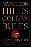 Napoleon Hill s Golden Rules PDF