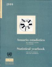 Anuario estadístico de América Latina y el Caribe: Edición 1999 Edition