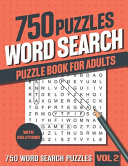 750 Word Search Puzzle Book for Adults PDF