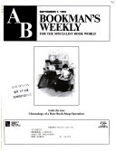AB Bookman's Weekly
