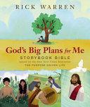 God s Big Plans for Me Storybook Bible PDF