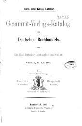 Buch- und kunst-katalog: Band 2,Ausgabe 1