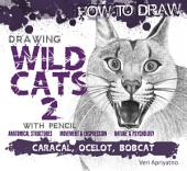 Drawing Wild Cat 2 with Pencil